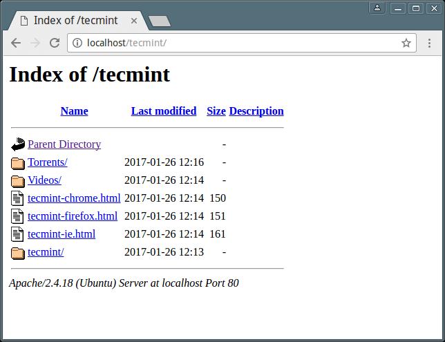禁止浏览网站目录